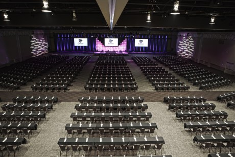 Kalahari will feature large convention space to attract businesses. The 17,000-square-foot ballroom in Sanduskey can fit up to 3,200 guests.