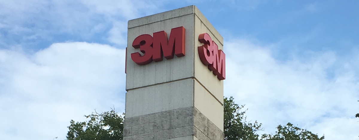 Packaging and tape products manufacturer 3M intends to sell its Four Points campus.