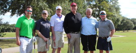 Former Houston Astros pitcher Larry Dierker (fourth from left), is celebrating his 70th birthday with local nonprofit Cy-Hope Sept. 22.