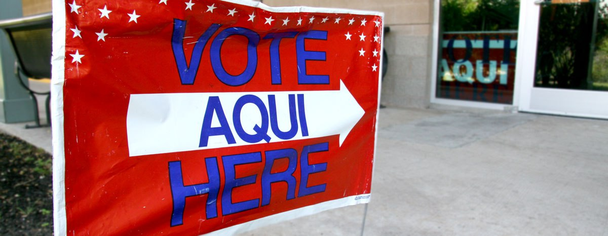 Below is a list of polling locations for early voting and Election Day in Spring and Klein.