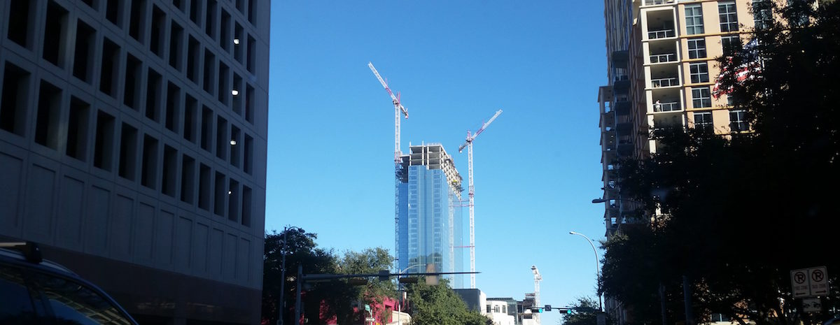 Fairmont Austin topping out ceremony