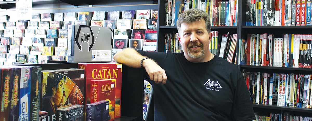 Arkham Comics & Games