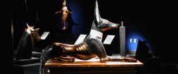 "The Texas Museum of Science & Technology hosts The ""Tutankhamun Exhibition"" through May 2017."