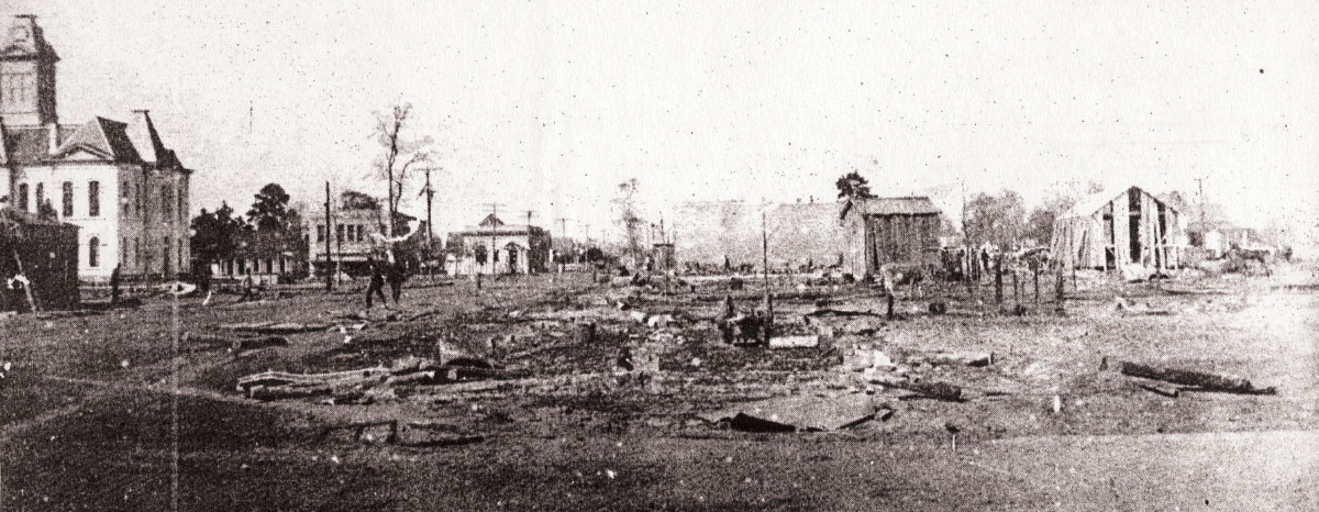 Conroe fire of 1911