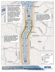 Overnight Dallas North Tollway, Spring Creek Parkway lane closures to take place Thursday, Friday in Plano