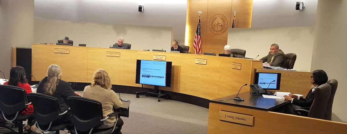 Travis County Commissioners Court meeting Jan. 24