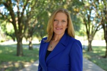 Valerie Nicholson announced her run for the District 2 position this week.