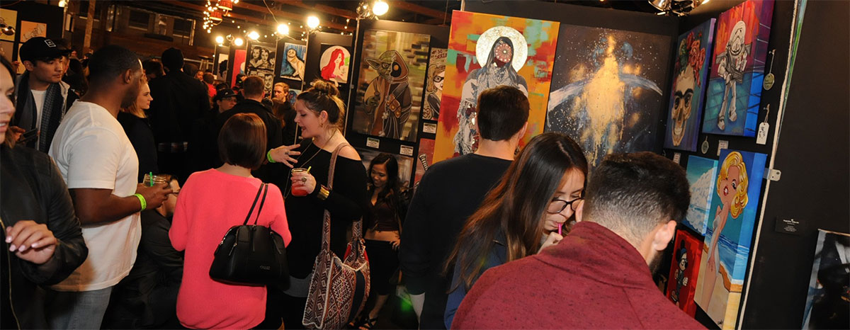 The Houston Pancakes & Booze Art Show will take place Jan. 20 and Houston Warehouse Live.