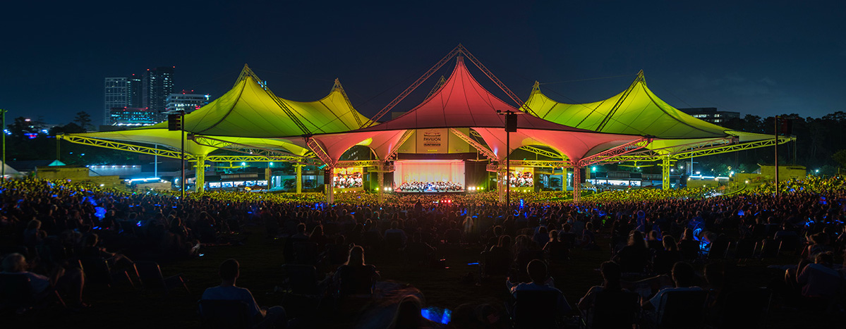 The Houston Symphony will perform the music of Led Zeppelin April 21 at the Cynthia Woods Mitchell Pavilion.