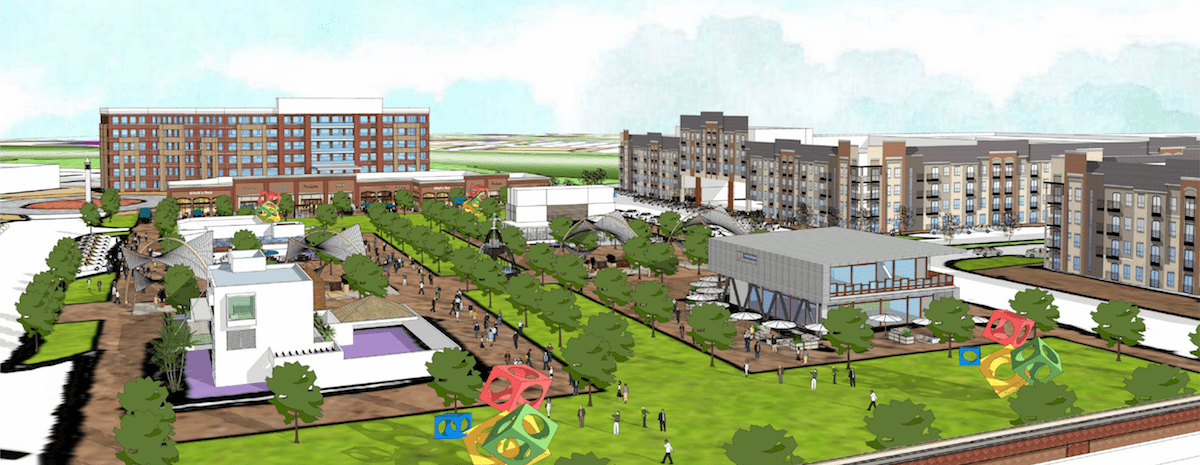 A proposed 356-acre, mixed-use development could come to the southwest corner of US 380 and the Dallas North Tollway.