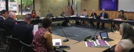 Austin-Travis County Emergency Medical Services directors met with the Austin City Council on Wednesday to discuss the potential results of merging the city's EMS and fire services.