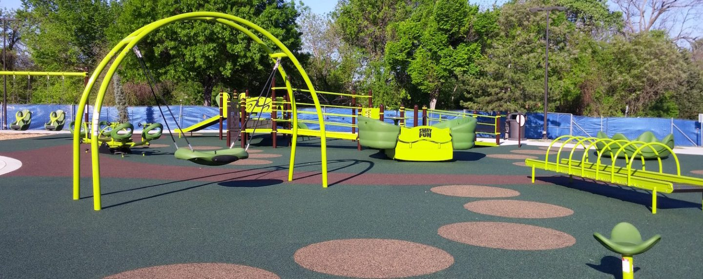 Plano's first all-abilities park is expected to open April 24 at 2601 Maumelle Drive.