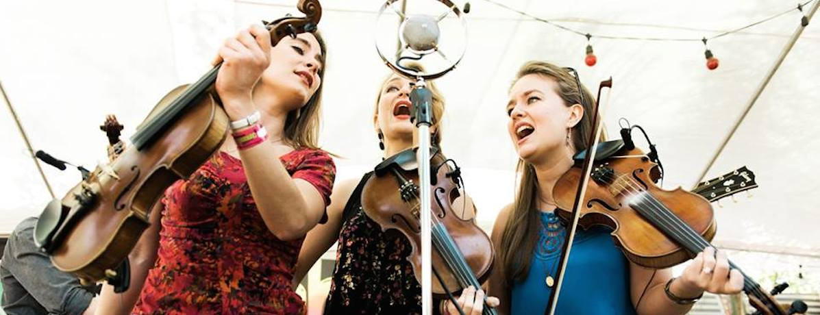 The Quebe Sisters will perform April 23 at Dosey Doe Big Barn