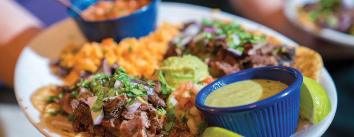 Tex-Mex mexican food tacos