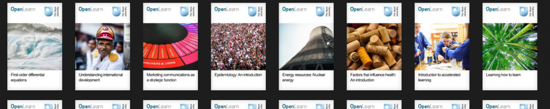 Free electronic study books from the Open University