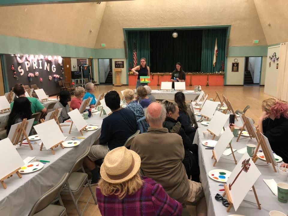 PAP April 3 - LMU Students Host Paint and Pour for Seniors