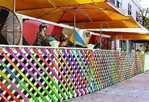 Buena Vista Deli celebrates art with mural, fence installation