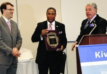 Kiwanis Club honors Nat Moore as its 2013 Citizen of the Year