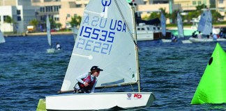 Young sailors from around world coming to S. Florida