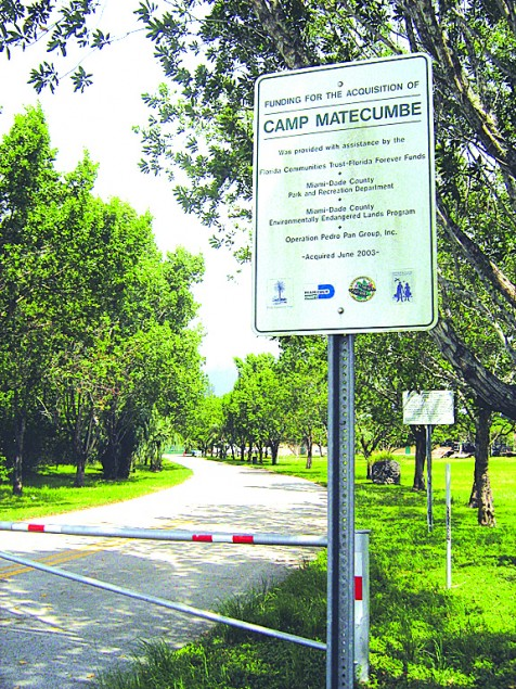 $15 million needed to turn Camp Matecumbe into park