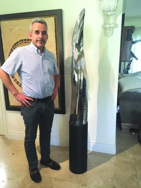 Santiago Medina's hands help heal sick, create art