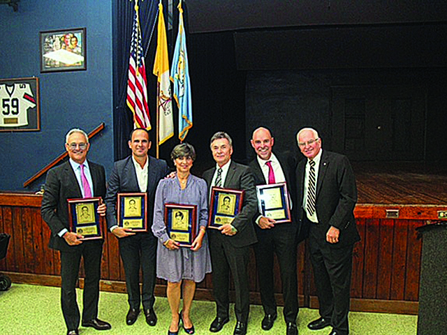 Columbus High School inducts 5 new members into Hall of Fame