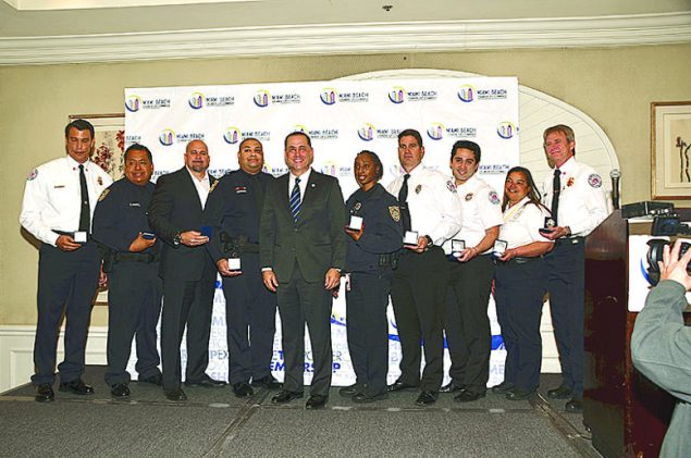 Miami Beach Chamber of Commerce Honors City of Miami Beach First Responders
