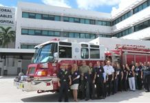 Hospital supports breast cancer fundraiser of Coral Gables FD