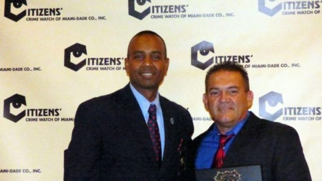 Castilla named Citizen Crime Watch Community Officer of the Year
