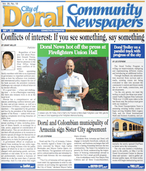 Doral Tribune Florida Newspaper