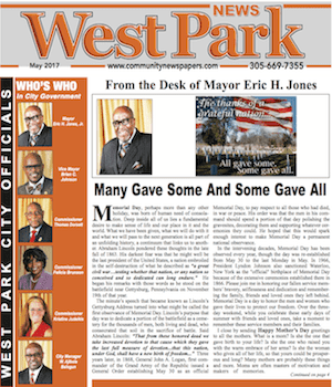 West Park Florida Newspaper