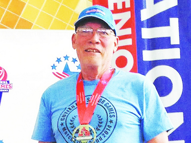 Resident wins two silver medals in National Senior Games swim