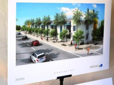 Senator Villas is a 12-unit building with 26 spaces for bus users on Bird Road between SW 89th Court and 89th Ave.