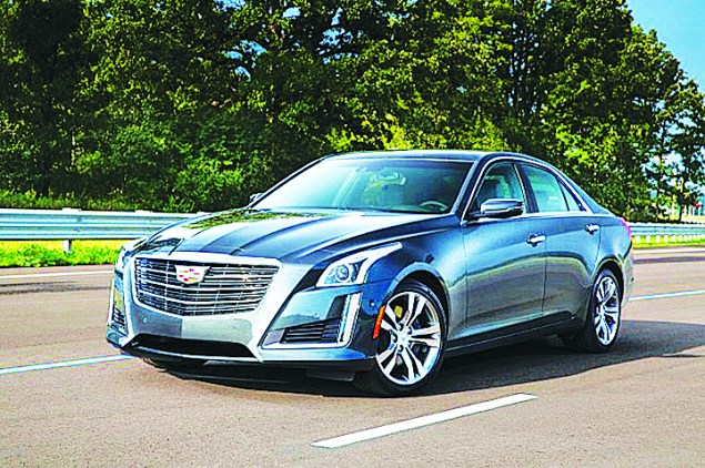 2017 Cadillac CTS-V is a super sedan in every sense