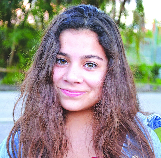 Positive people in Pinecrest : Sarah Khan.