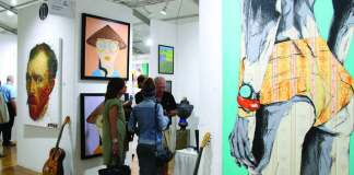 3 shows under one roof showcase artists and galleries from U.S and around globe