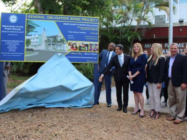 M-DCPS hosts groundbreaking event at Miami Palmetto High