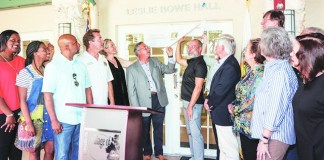 Village honors Leslie Bowe with naming of community room