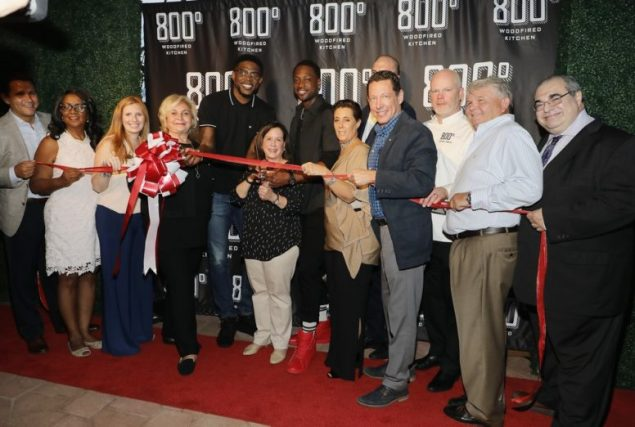 Aventura officials cut red ribbon for 800° Woodfired Kitchen