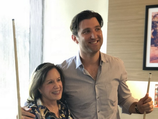 Aloft Aventura hosts two Mayors and a billiards game