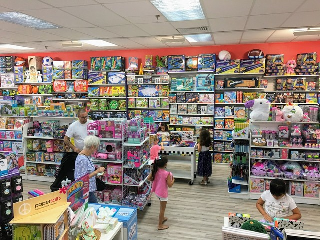 Learning Express Toys believes children learn through play and the toy selection always has play value in mind.