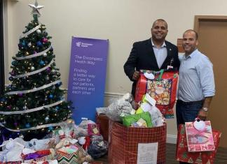 Encompass Health helps brighten holidays for seniors in community