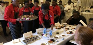 Future top chefs polish culinary skills for Taste of Education event