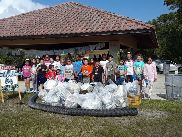 Whigham Elementary participates in 8th annual World Wetlands Day
