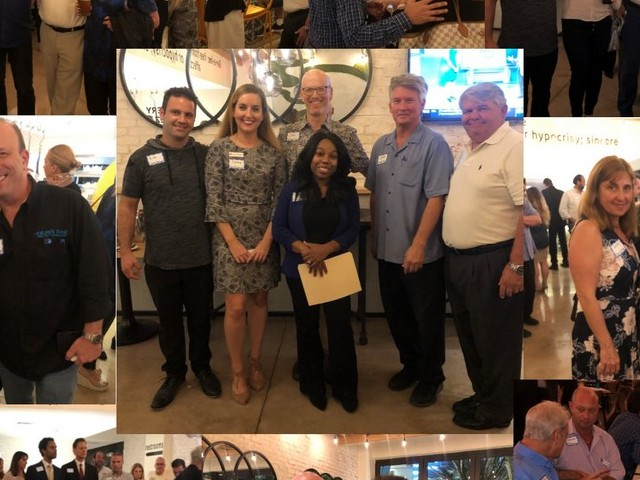 Pizza, pasta and salads galore as Genuine Pizza hosts networking reception