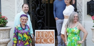 House of mosaics plays host to historic preservation group