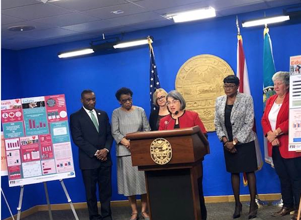 Miami-Dade County Commission releases status of women report