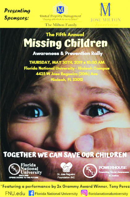 FNU Raises its Voices in Recognition of National Missing Children's Day
