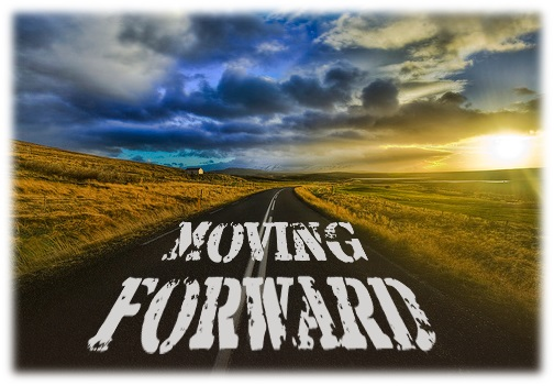 We must move forward