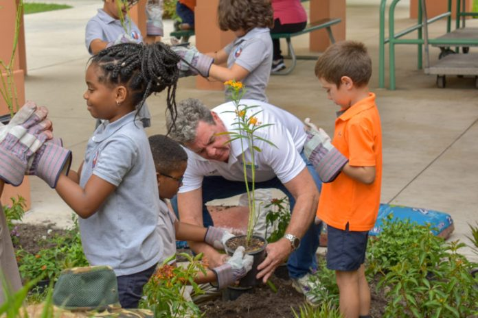 Whigham Elementary School joins town in Earth Day event